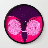 Quantum Lovers Wall Clock