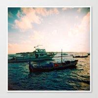 Maldives 02 02 Canvas Print