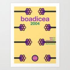boadicea single hop Art Print