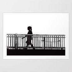 Stroll Art Print
