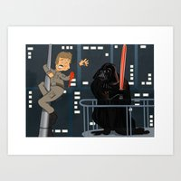 Like Father Like Son Art Print