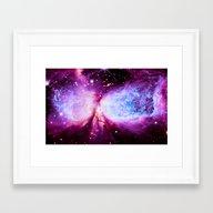 A Star Is Born Nebula Framed Art Print