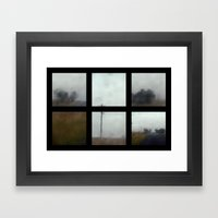Lost - Polyptych Framed Art Print