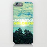 Never Stop Exploring II iPhone 6 Slim Case