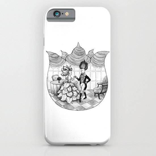 Floral Society Greeting iPhone & iPod Case