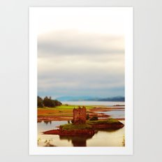 Castle Stalker (Scotland) Art Print