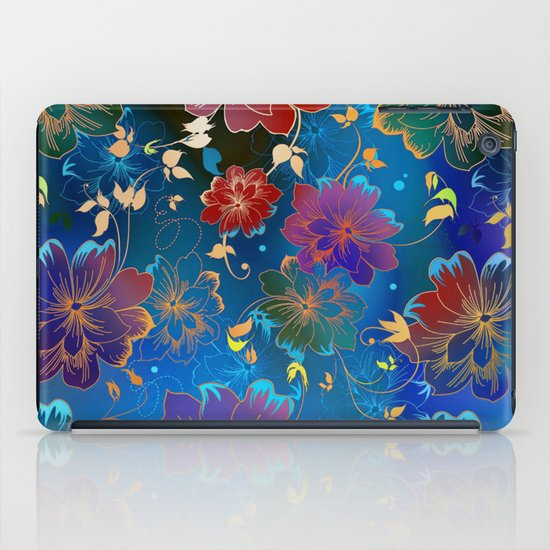 Floral Pattern 2 iPad Case