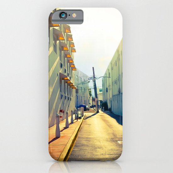 South Beach Sunrise iPhone & iPod Case