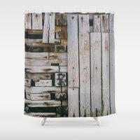 wharf Shower Curtain