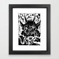 Night of the Demon Framed Art Print