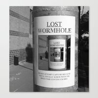 Lost Wormhole Canvas Print
