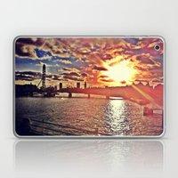 Sunset Over London Laptop & iPad Skin