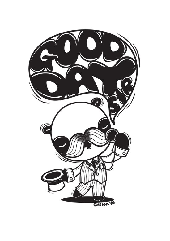Mr. Euro-Panda Art Print