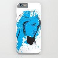 Black, blue & white II iPhone 6 Slim Case
