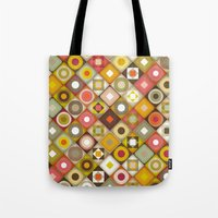 parava retro diagonal Tote Bag