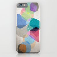 iPhone Cases featuring Graphic 100 by Mareike Böhmer Graphics
