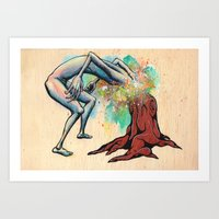 Ingrown Art Print
