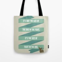 The Mighty Chihuahua Tote Bag