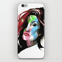 Heather iPhone & iPod Skin