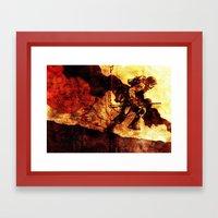 WHF Goes To War Framed Art Print