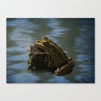 Natures Tanning Bed Canvas Print