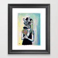 Jungle Candy Framed Art Print