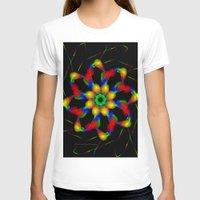 fractal T-shirts featuring Fractal by Marisa Lopez-Cruzan