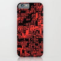 iPhone & iPod Case featuring ASCII by haydiroket
