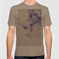Audacity  Mens Fitted Tee Tri-Coffee SMALL