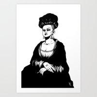 Mona Lisa Art Print