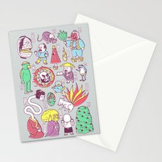 Yokai / Japanese Supernatural Monsters Stationery Cards