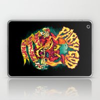 PARTY GOD (red) Laptop & iPad Skin