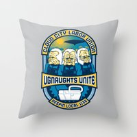 Ugnaughts Unite Throw Pillow