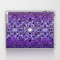 Floral Abstract Backgrou… Laptop & iPad Skin