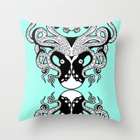Octopus Mirrored Throw Pillow