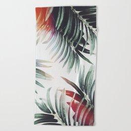 Beach Towel - Vintage plants - Lost Empire