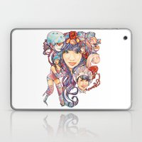 Pintsizevillan portrait Laptop & iPad Skin