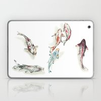Koi Fish Watercolour Laptop & iPad Skin