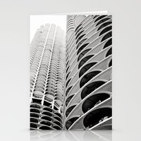 Chicago's Marina City Stationery Cards