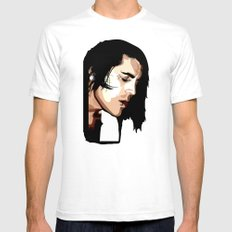 The Feeling of Music Mens Fitted Tee White SMALL