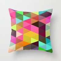 City of lights 01. Throw Pillow