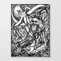 Cross Your Heart Canvas Print