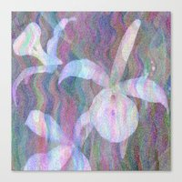 Orchid Ripples Canvas Print