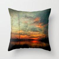 Bayou Colors Throw Pillow