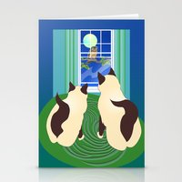 The Owl And The Pussycat… Stationery Cards
