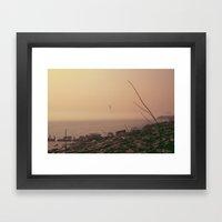 From The Haze Framed Art Print