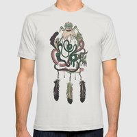 The Dream Catcher: Old Hag's Bane Mens Fitted Tee Silver SMALL