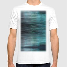Night Light 138 - Ocean White Mens Fitted Tee SMALL
