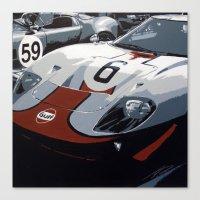 Race Day Canvas Print