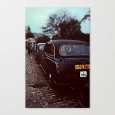 London Cab Canvas Print